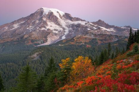 gunung Rainier