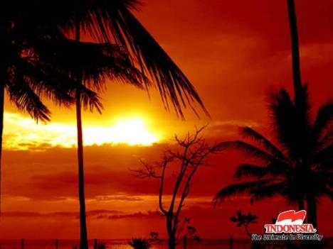 Pantai Senggigi di Lombok