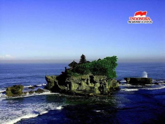 Pemandangan Tanah Lot Bali