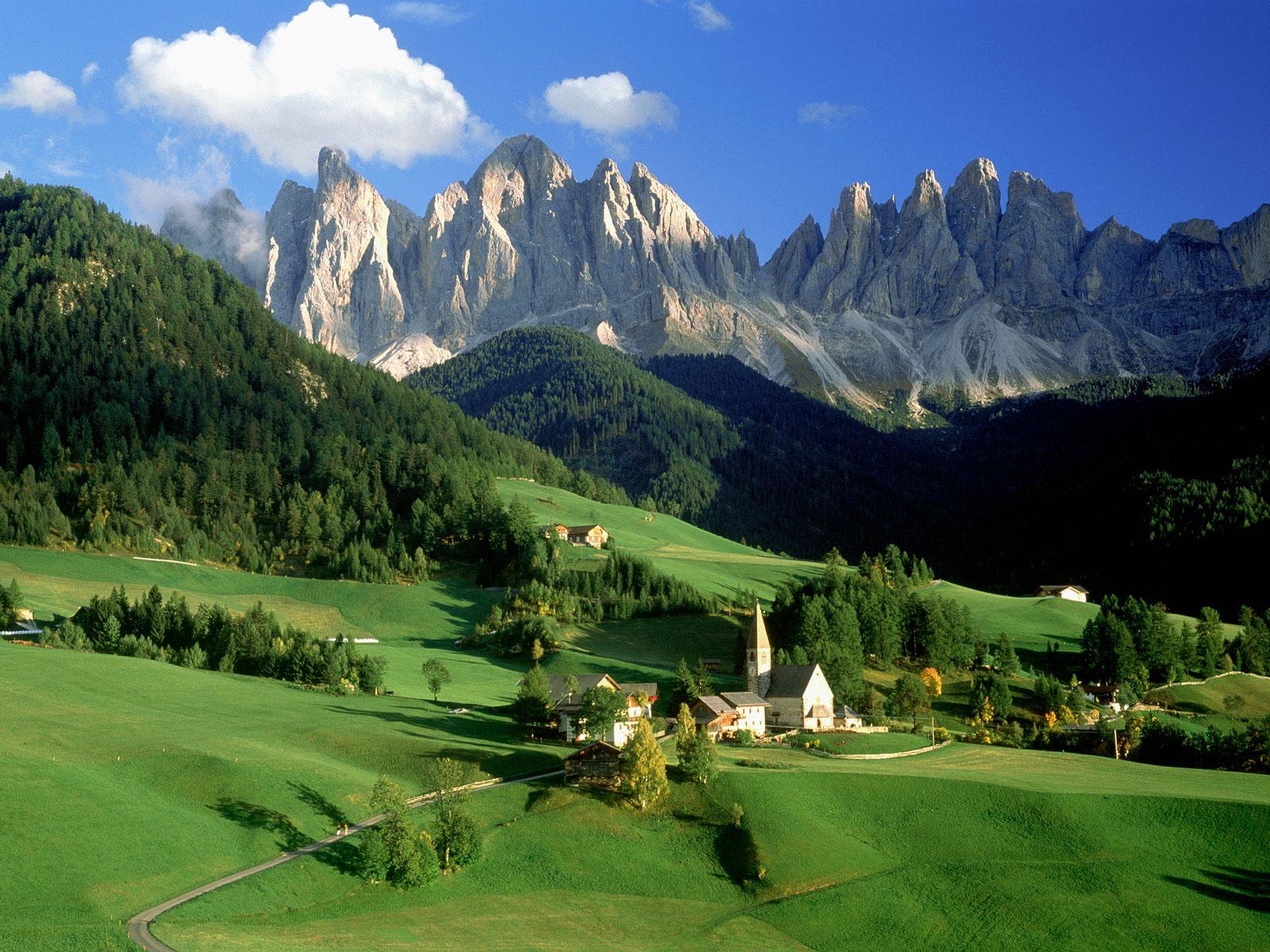 Kumpulan foto pemandangan alam yang indah sakuja for Green italy