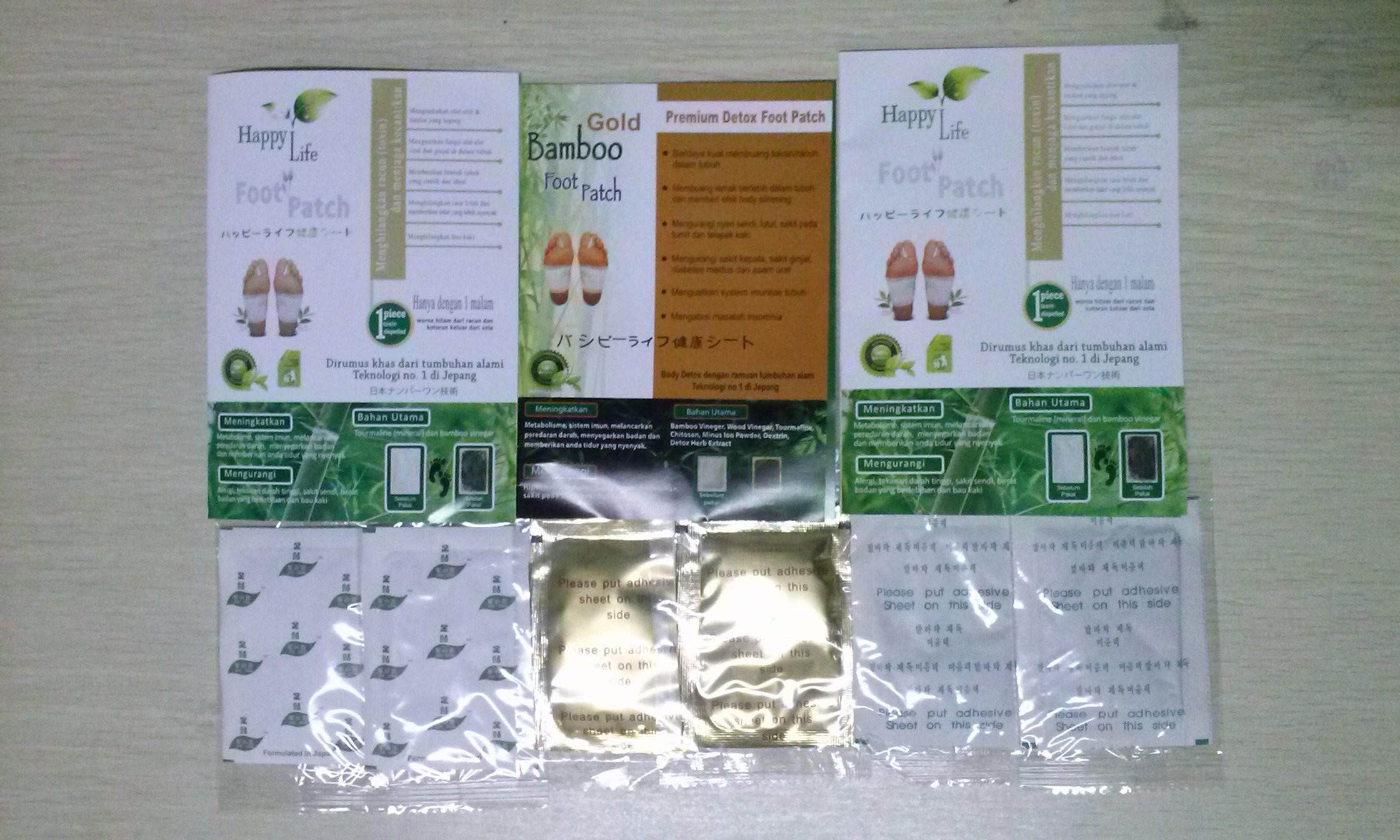 Jual Murah Koyo Kaki Bamboo Original Terbaru 2018 Gold Penyerap Racun Tubuh Gogo Premiun Foot Patch 10 Pasang Beli Harga Goldrelax Perbedaan Happy