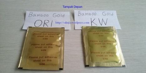 koyo kaki bamboo gold - tampak depan